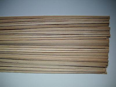 50 Holzleisten Ahorn 1000 x 5 x 0,6 mm