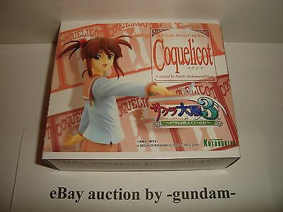 Kotobukiya 1/8 scale Coquelicot resin model garage kit Sakura Taisen / Wars 3