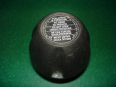 NEW BLACK PRESSURE RELIEF VALVE CAP, 1/2