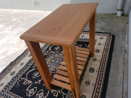 Rustic Marri Hall Table. Delivery Available