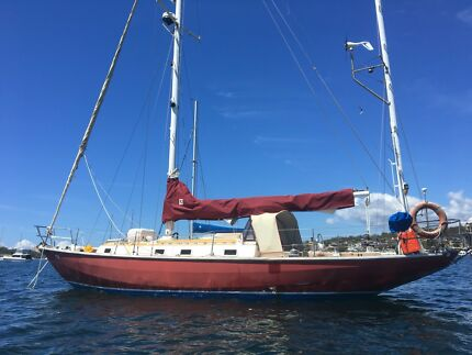 39 ft sailing boat yacht