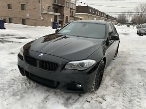 BMW 535 xi - M Package - Cuir Rouge - Tres Propre - 23 500$