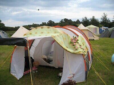 Sanam 4 Person Tunnel Tent