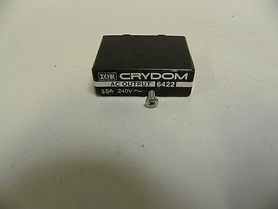 Nos Crydom 6422 Ssr Solid State Relay 3.5a 240v A10