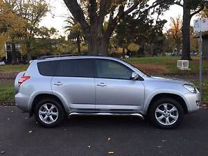 2010 Toyota RAV4 SX6 V6 Wagon with extras only 75,422km! Port Melbourne Port Phillip Preview