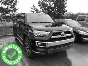 2016 Toyota 4Runner Limited 4WD| Sun| Nav| H/C Lth| Side Stp| RV