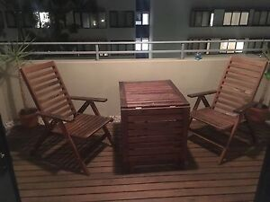 IKEA wooden outdoor setting Erskineville Inner Sydney Preview