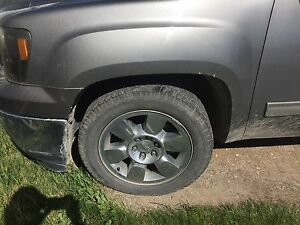 Gmc / Chevy rims and tire