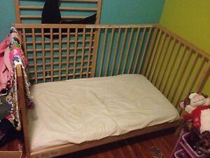 3 in 1 crib set
