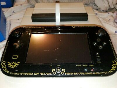 Nintendo Wii U Gamepad Zelda Edition WUP-010 - Gamepad only *tested* Works!