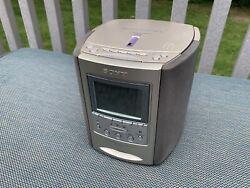 Sony Dream Machine ICF-CD863V AM/FM CD Player Alarm Clock Radio. FANTASTIC