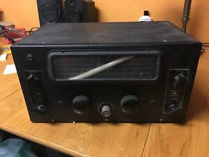 Vintage National Company NC-44 Ham Radio from the 40's