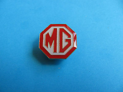 MG Car Logo Pin Lapel Badge, VGC. Unused. Enamel.
