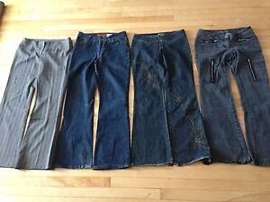 pantalon pour femme grandeur M et L