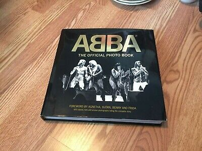 ABBA : The Official Photo Book by Petter Karlsson (2014, Hardcover) ~excellent