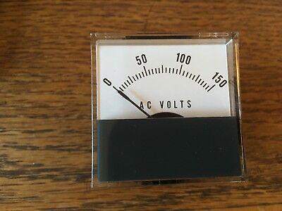 Vintage Jewell Mist 0-150 Vacr Panel Meter