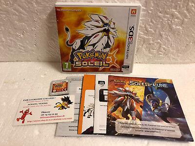 Jeu Vidéo Nintendo 3DS/2DS Pokemon Soleil VF XL Nintendo Game Freak RPG +7 BE