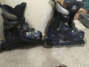 2 pairs roller blades