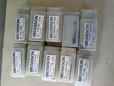 Lot Of 10 Differrent Pcs Branson Ultrasonic Welder Tip New Old Stock