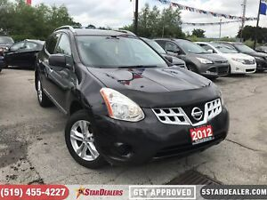2012 Nissan Rogue S (CVT) | CAM | AWD | HEATED SEATS