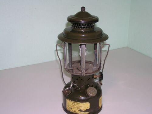 Vintage 1966 Military Coleman Gas Gasoline Fuel Lantern US Quadrant Globe
