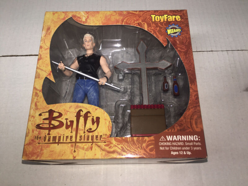 Buffy the Vampire Slayer Fool For Love Spike figure Toyfare Exclusive Mint