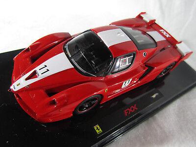 1:43 Kyosho dnano Ferrari FXX red//white New en Premium-modelcars