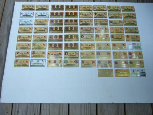 Vintage Perma Products Engravable Metal Social Security Cards/Advertising Lot