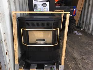 New still in  crate pellet stove