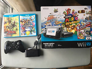 Wii U 32GB Great Condition