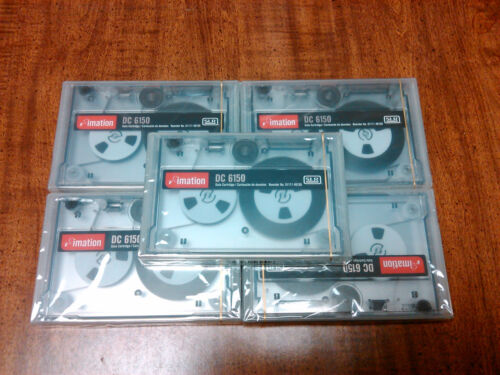 Imation DC6150 - PN 46155 - Lot of 5, Brand New, Factory Sealed