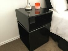 Black Cube Bedside Tables Arundel Gold Coast City Preview