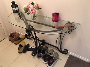 Modern hall entrance table or buffet Bulleen Manningham Area Preview