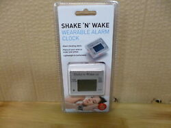 Shake N Wake Wearable Alarm Clock silent vibrating alarm lightweight comfortable