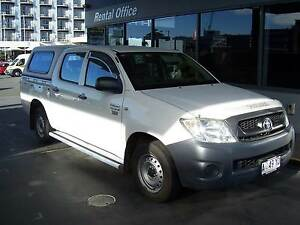 2009 Toyota Hilux Workmate Ute - Automatic Hobart CBD Hobart City Preview