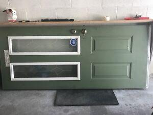 Steel front door