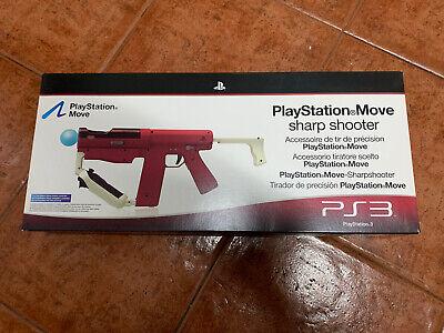 Sony SHARP SHOOTER PlayStation Move PS3 PS4 VR PSVR Pistola Escopeta NEW...