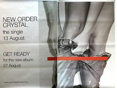 NEW ORDER RIESENPOSTER GIANT POSTER CRYSTAL - ca. 200x150cm - 2 TEILE 2 PARTS - 2 Riesen Poster