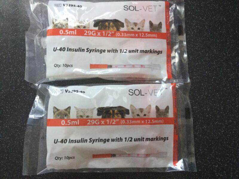 SOL-VET+0.5ml+29G+X+1%2F2%E2%80%9D+%280.33+mm+X+12.5mm%29+U-40++1%2F2%E2%80%9D+Unit+Marking++X++2+Packs
