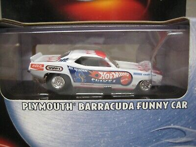HOT WHEELS MINT IN BOX 2001 100% SERIES SNAKE PLYMOUTH BARRACUDA FUNNY CAR  !