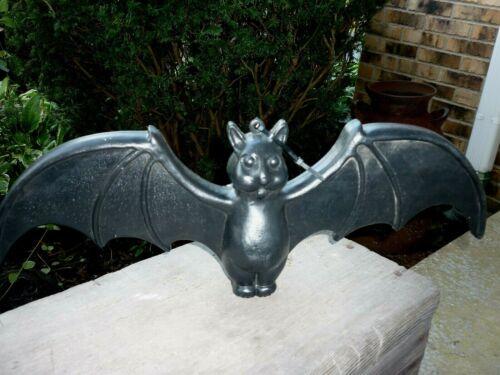 "Vintage Blow Mold Halloween Flying Vampire Bat Union Don Featherstone 22"" Long"