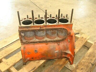1959 Case 611b Tractor Engine Block 600-b
