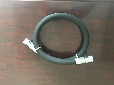 14 X 12 2-wire Hydraulic Hose Assembly With 2- Male Pipe Fittings 14 Threads