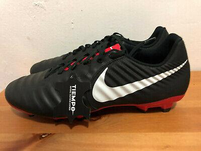buy popular 7c9c6 7d7a7 Nike Tiempo Legend 7 Academy FG Soccer Cleats Men s Size 11.5 Black White  Red