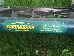 "18"" push mower"