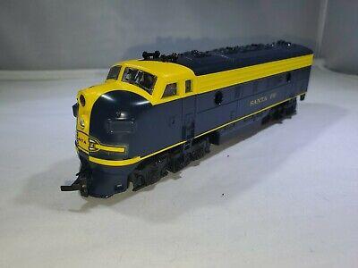 HO Scale SANTA FE Locomotive 200c Tested Fast #200C Diesel Train Life Like