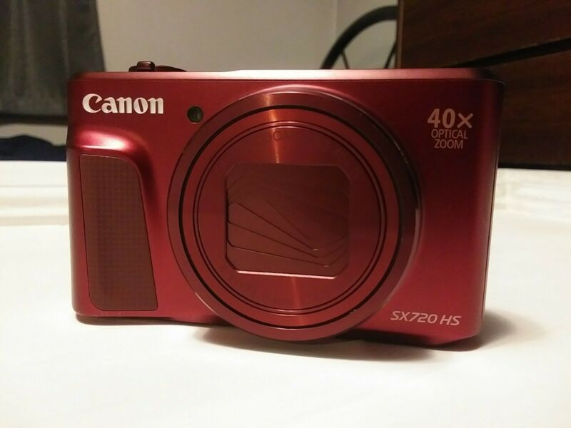 Canon PowerShot SX720 HS 20.3-Megapixel Digital Camera - Red