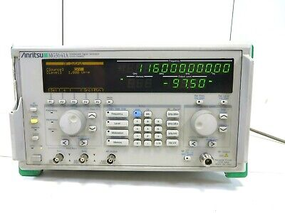 Anritsu Mg3641a Synthesized Signal Generator 125 Khz - 1040 Mhz Free Shipping