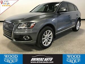 2016 Audi Q5 2.0T Technik QUATTRO AWD, PANORAMIC ROOF, LEATHER
