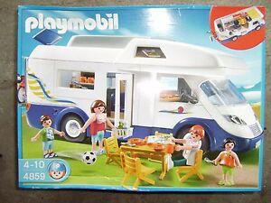 PLAYMOBIL 4859  Familien-Wohnmobil , Wohnwagen Camping